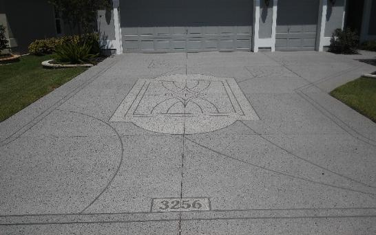 Stardust Decorative Driveway Painting Zephyrhills ,Suncity